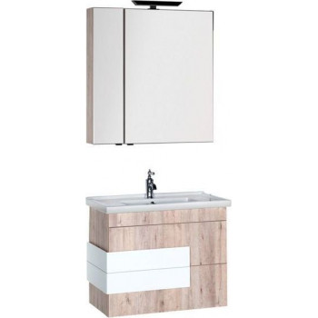 Комплект мебели для ванной Aquanet Мадейра 80 дуб кантри