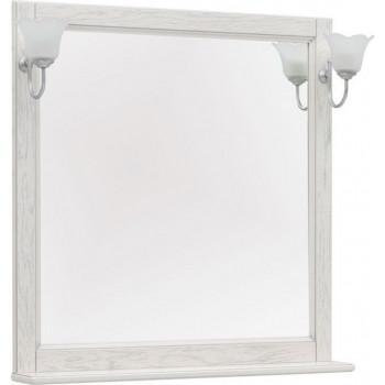 Зеркало Aquanet Тесса Декапе 85 жасмин/серебро
