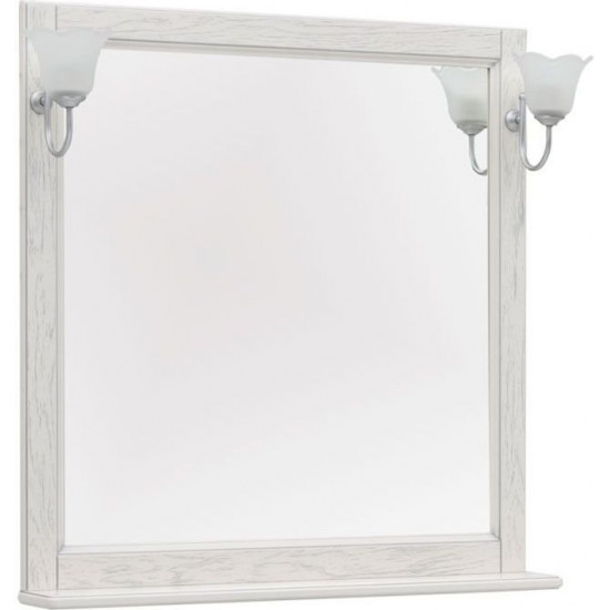 Зеркало Aquanet Тесса Декапе 85 жасмин/серебро в интернет-магазине ROSESTAR фото