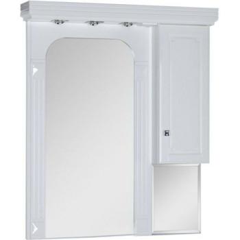 Зеркало-шкаф Aquanet Фредерика 100 белый