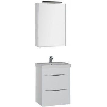 Комплект мебели для ванной Aquanet Орлеан 60 белый