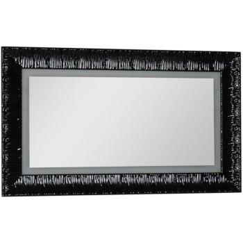 Зеркало c подсветкой и подогревом Aquanet Мадонна 120 черный