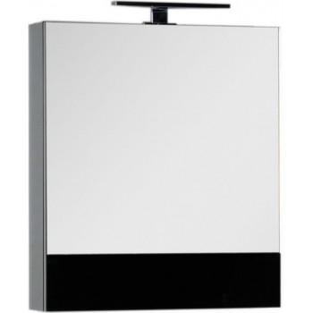 Зеркало-шкаф Aquanet Верона 58 черный