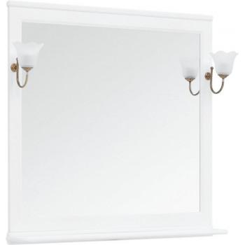 Зеркало Aquanet Валенса NEW 105 белый