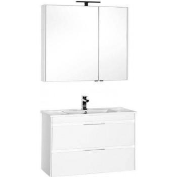 Комплект мебели для ванной Aquanet Тулон 100 белый