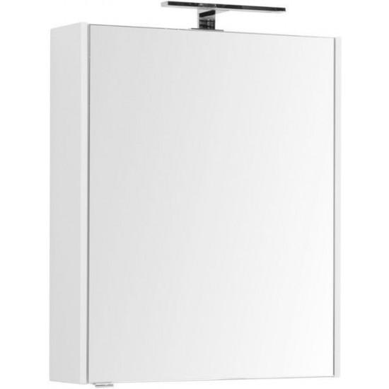 Зеркало-шкаф Aquanet Палермо 60 белый в интернет-магазине ROSESTAR фото