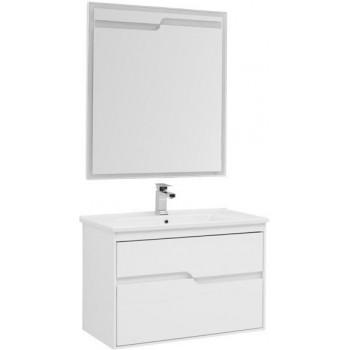 Комплект мебели для ванной Aquanet Модена 85 белый