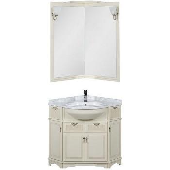 Комплект мебели для ванной Aquanet Луис 70 угловой бежевый
