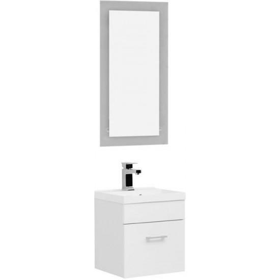 Комплект мебели для ванной Aquanet Нота NEW 40 лайт белый в интернет-магазине ROSESTAR фото