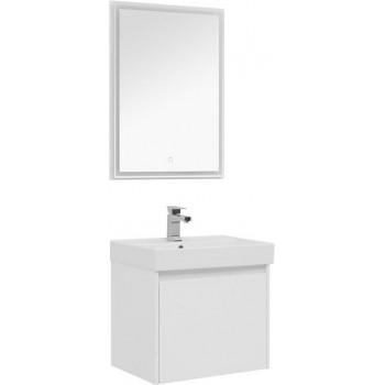 Комплект мебели для ванной Aquanet Nova Lite 60 белый (1 ящик)