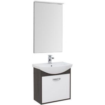 Комплект мебели для ванной Aquanet Грейс 65 дуб кантербери/белый (1 ящик)