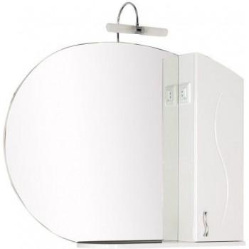 Зеркало-шкаф Aquanet Моника 105 белый