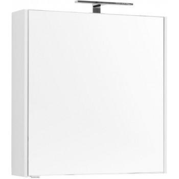 Зеркало-шкаф Aquanet Палермо 70 белый