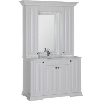 Комплект мебели для ванной Aquanet Кастильо 120 белый