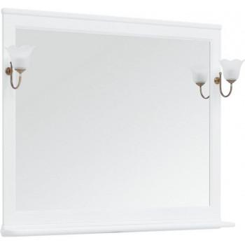 Зеркало Aquanet Валенса NEW 120 белый