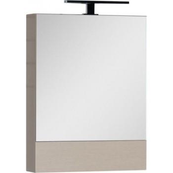 Зеркало-шкаф Aquanet Нота 50 светлый дуб