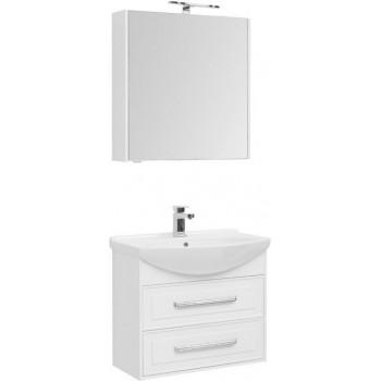 Комплект мебели для ванной Aquanet Остин 75 белый