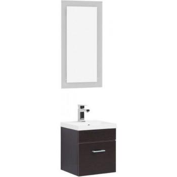 Комплект мебели для ванной Aquanet Нота NEW 40 лайт венге