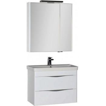 Комплект мебели для ванной Aquanet Орлеан 80 белый