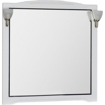Зеркало Aquanet Луис 110 белый