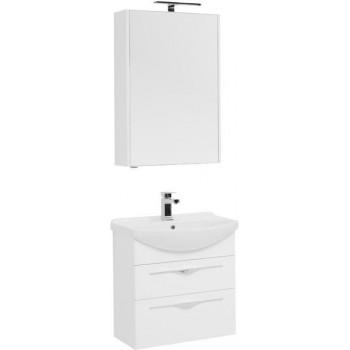 Комплект мебели для ванной Aquanet Ирвин 65 белый