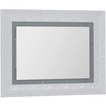 Зеркало c подсветкой и подогревом Aquanet Мадонна 90 белый
