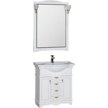 Комплект мебели для ванной Aquanet Луис 80 белый