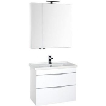 Комплект мебели для ванной Aquanet Эвора 80 белый