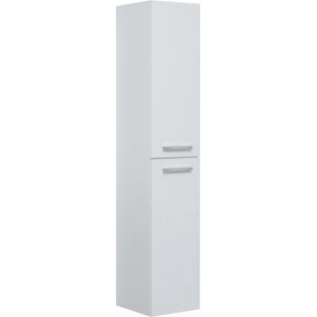 Шкаф-пенал для ванной Aquanet Nova 35 белый