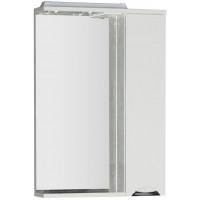 Зеркало-шкаф с подсветкой Aquanet Гретта 60 белый