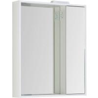 Зеркало-шкаф с подсветкой Aquanet Клио 70 белый