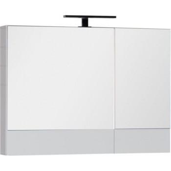 Зеркало-шкаф Aquanet Нота 90 белый
