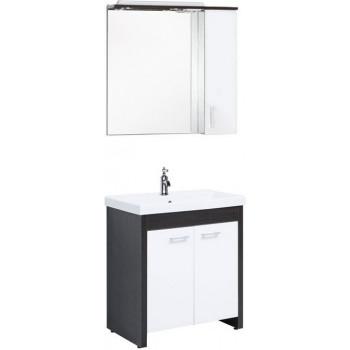 Комплект мебели для ванной Aquanet Тиана 75 венге