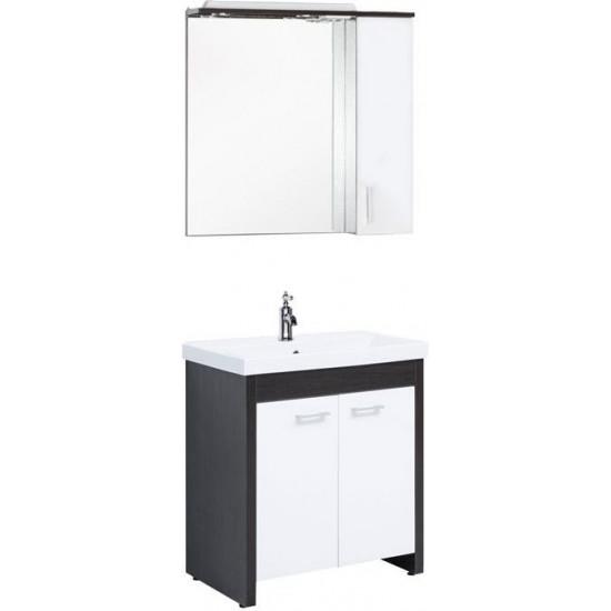 Комплект мебели для ванной Aquanet Тиана 75 венге в интернет-магазине ROSESTAR фото