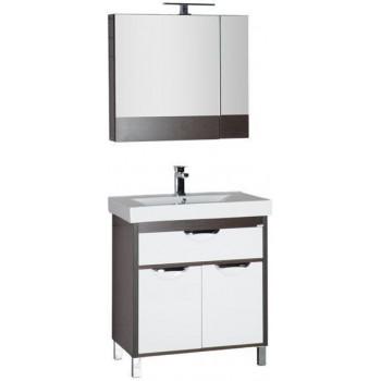 Комплект мебели для ванной Aquanet Гретта 75 венге (камерино)