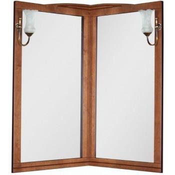 Зеркало Aquanet Луис 70 угловое темный орех