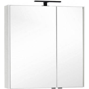 Зеркало-шкаф Aquanet Тулон 85 белый