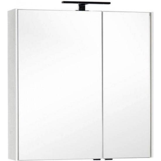 Зеркало-шкаф Aquanet Тулон 85 белый в интернет-магазине ROSESTAR фото