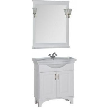 Комплект мебели для ванной Aquanet Валенса 80 белый