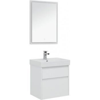Комплект мебели для ванной Aquanet Nova Lite 60 белый (2 ящика)