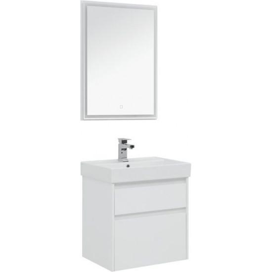 Комплект мебели для ванной Aquanet Nova Lite 60 белый (2 ящика) в интернет-магазине ROSESTAR фото