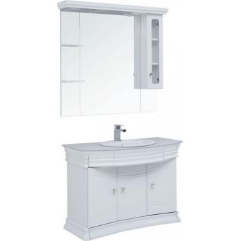 Комплект мебели для ванной Aquanet Греция NEW 110 белый/серый