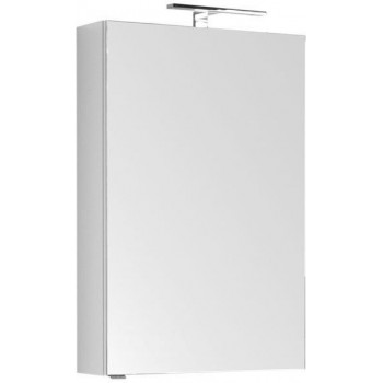Зеркало-шкаф Aquanet Рондо 60 белый (камерино)