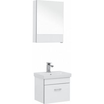 Комплект мебели для ванной Aquanet Верона 50 (Moduo Slim) белый