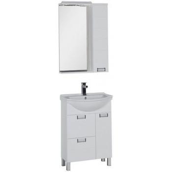Комплект мебели для ванной Aquanet Сити 60 белый