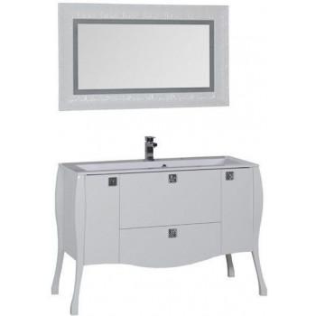Комплект мебели для ванной Aquanet Мадонна 120 белый