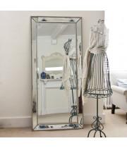 Большое напольное и настенное зеркало в полный рост в зеркальной раме Franco Mid (Франко)
