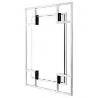 Зеркало в металлической раме Hi-Tech