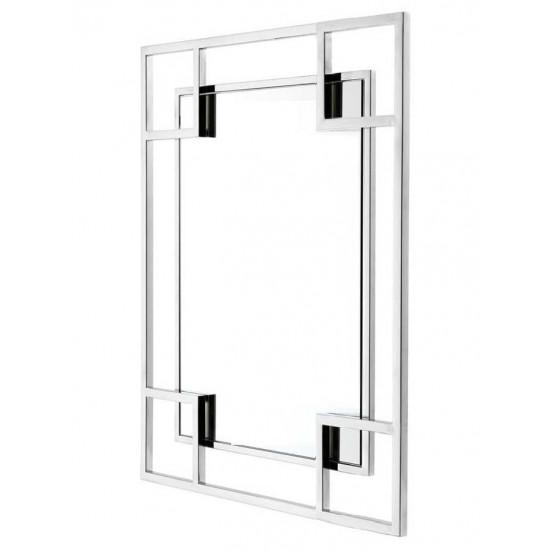 Зеркало в металлической раме Hi-Tech  в интернет-магазине ROSESTAR фото
