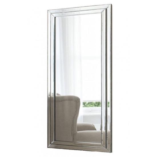 Большое напольное и настенное зеркало в полный рост в зеркальной раме Line в интернет-магазине ROSESTAR фото